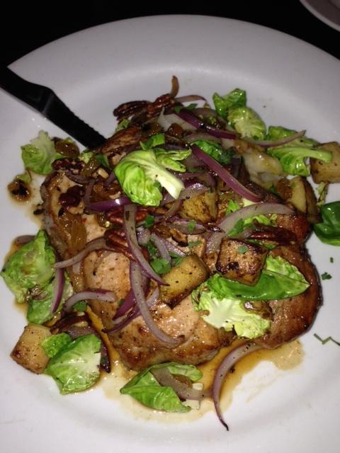 Jax Kitchen pork chop