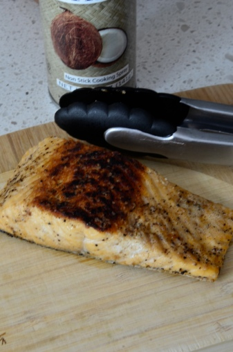 nice seared salmon
