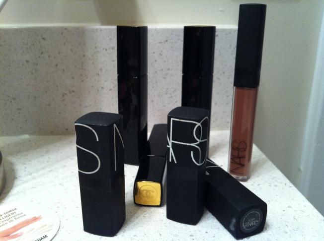 lips and glosses