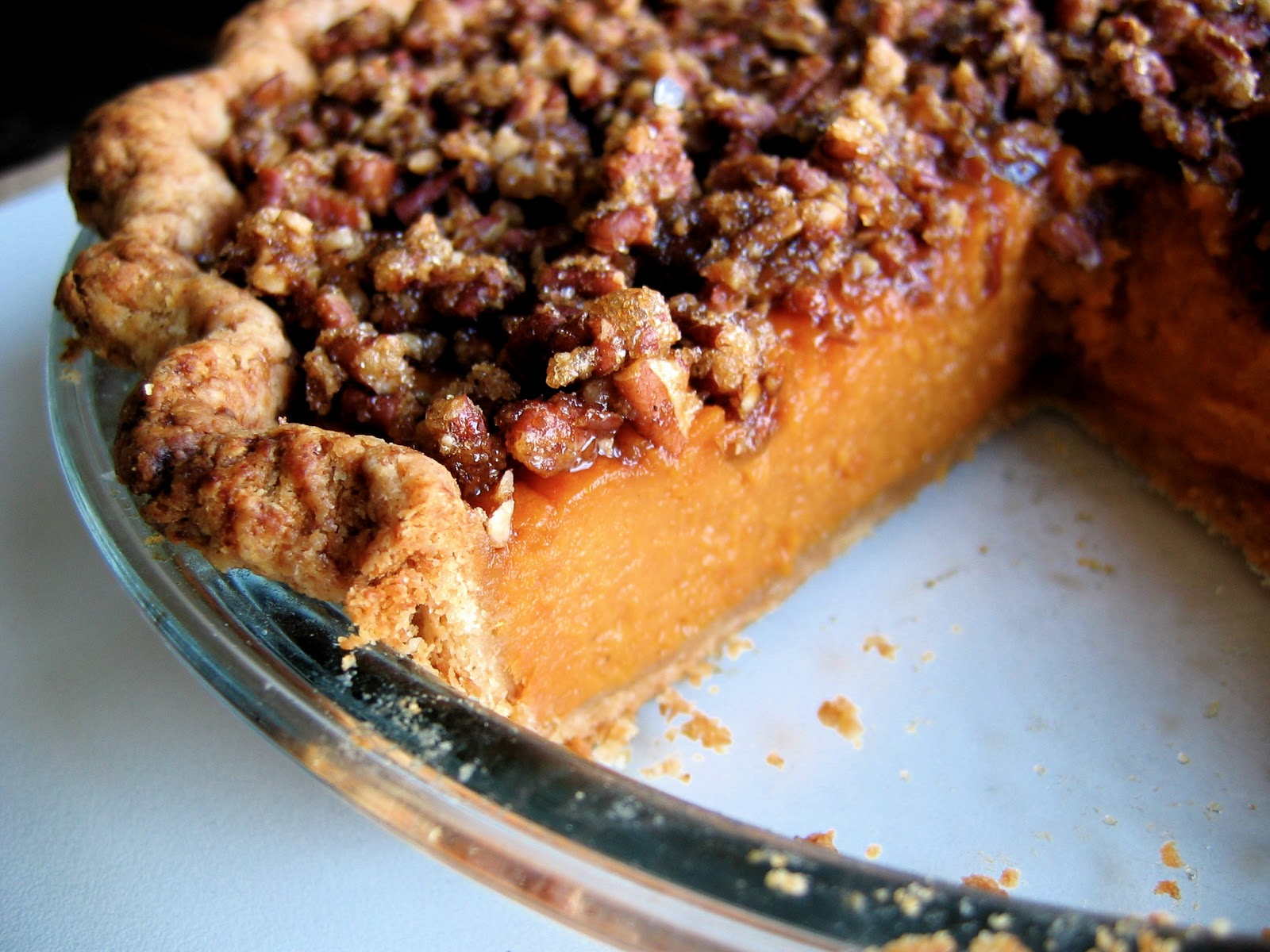 ... pie sweet potato pie with pecan streusel pecan and sweet potato