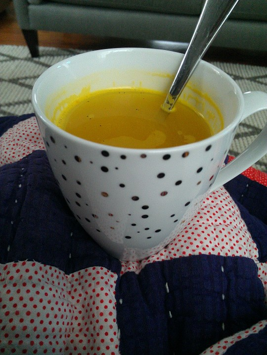 tumeric tea photo credit: blahblahbirds