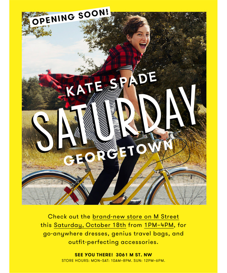 photo credit: saturday by kate spade