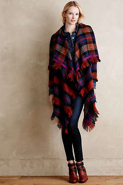 Blanket Coat photo credit: anthropologie