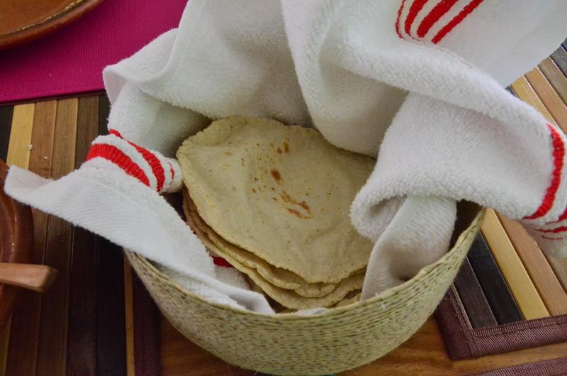 nothing better than homemade corn tortillas