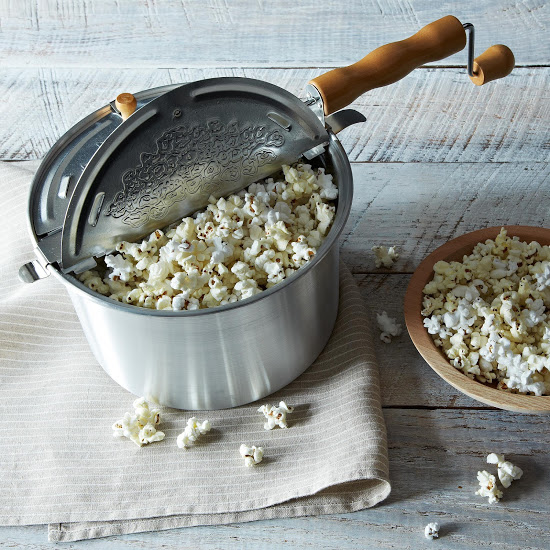 whirley pop popcorn popper