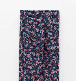 rosa floral - navy