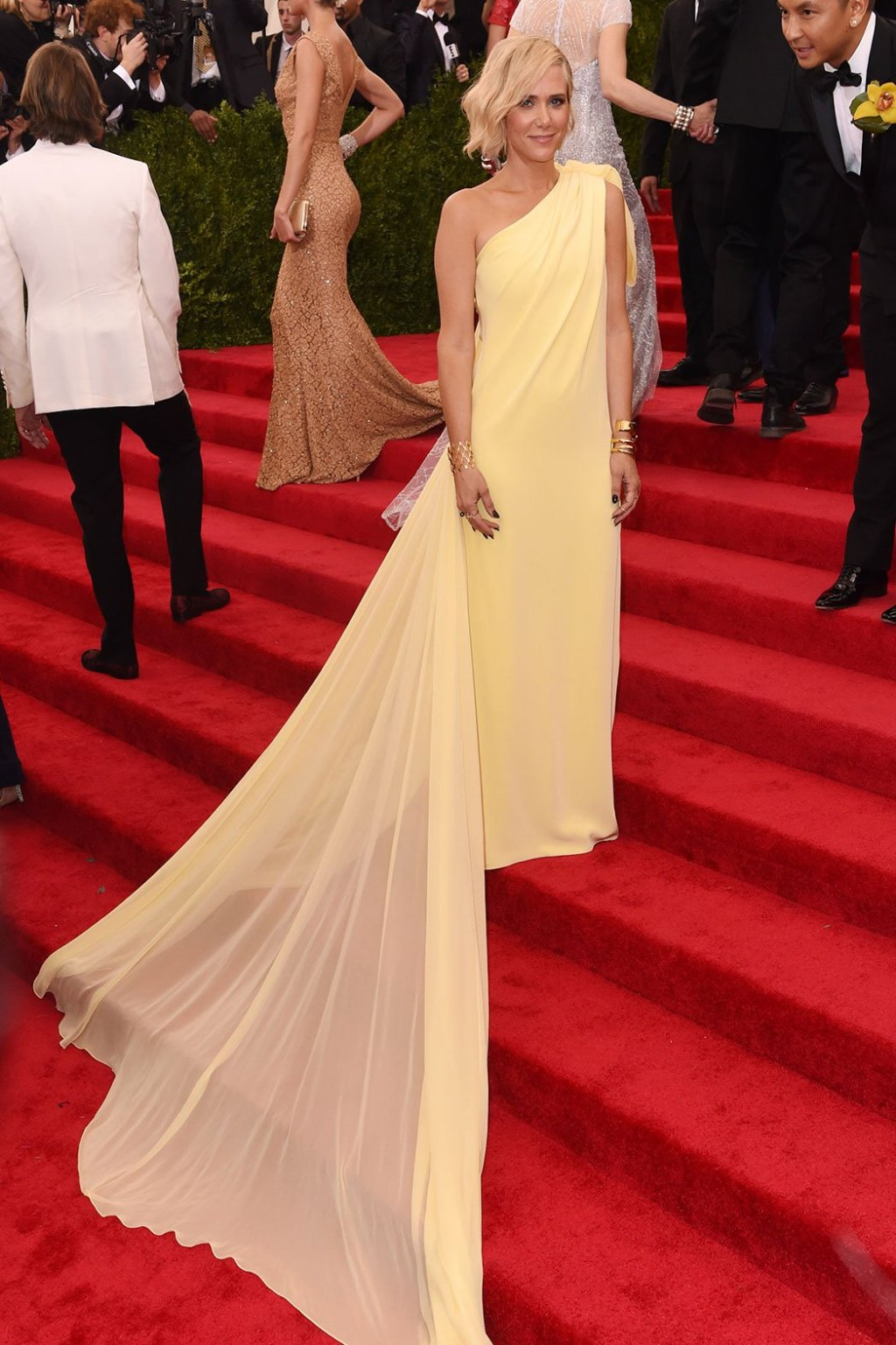 photo credit: Getty images draped in yellow/prabal Gurung